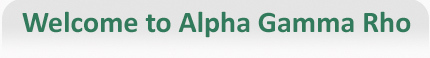 Image - Welcome to Alpha Gamma Rho