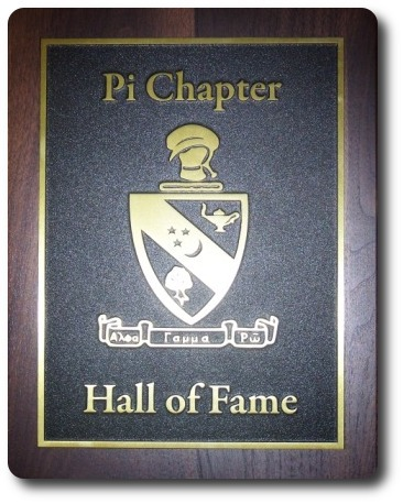 Alpha Gamma Rho Pi Chapter Hall of Fame