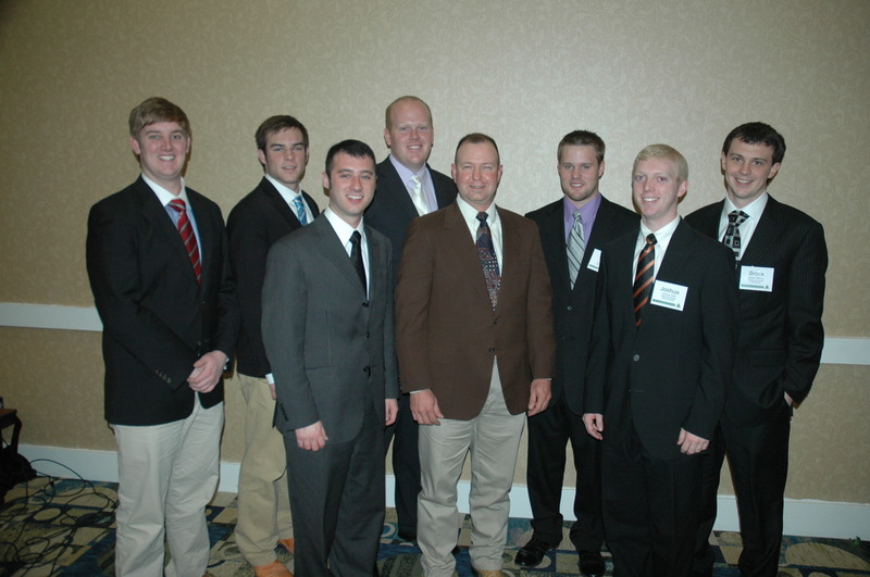 Pi Chapter Initiates Scotty Duvall