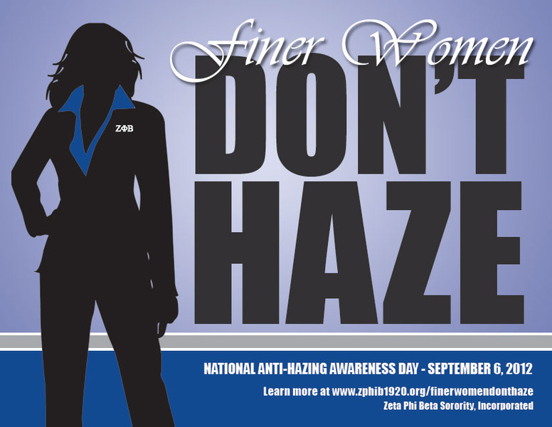 Finer Women Don't Haze