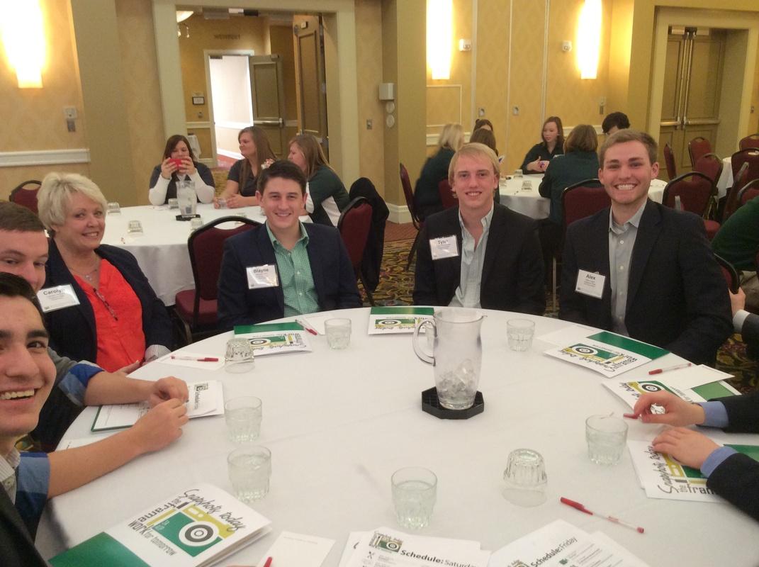 Pi Chapter at AGR Leadership Seminar