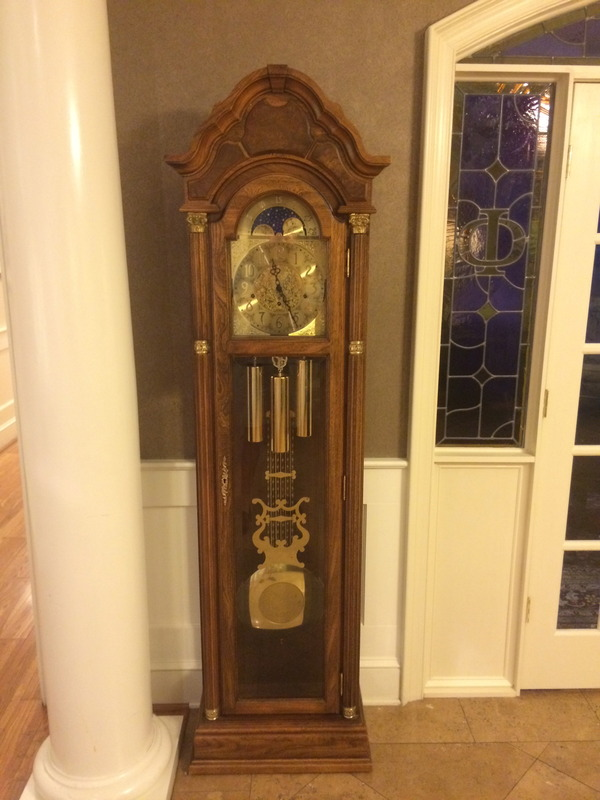 Grandfather Clock from Charlie Bones '81