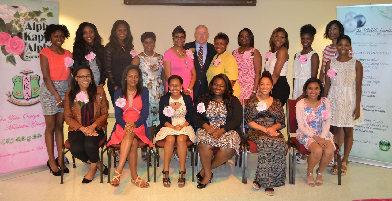 2015 PZO/PEARL Scholarship Recipients