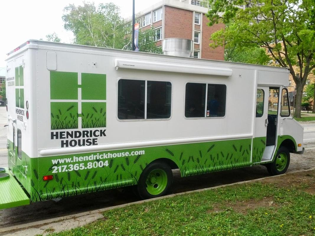 Hendrick house our food truck for Hendricks house