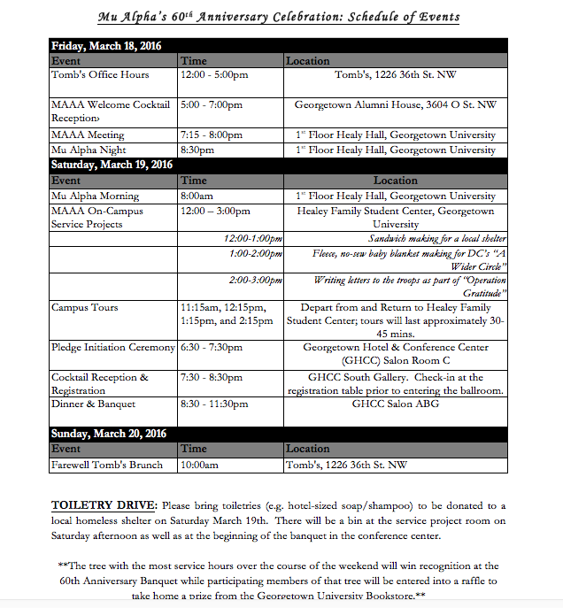 60th Schedule