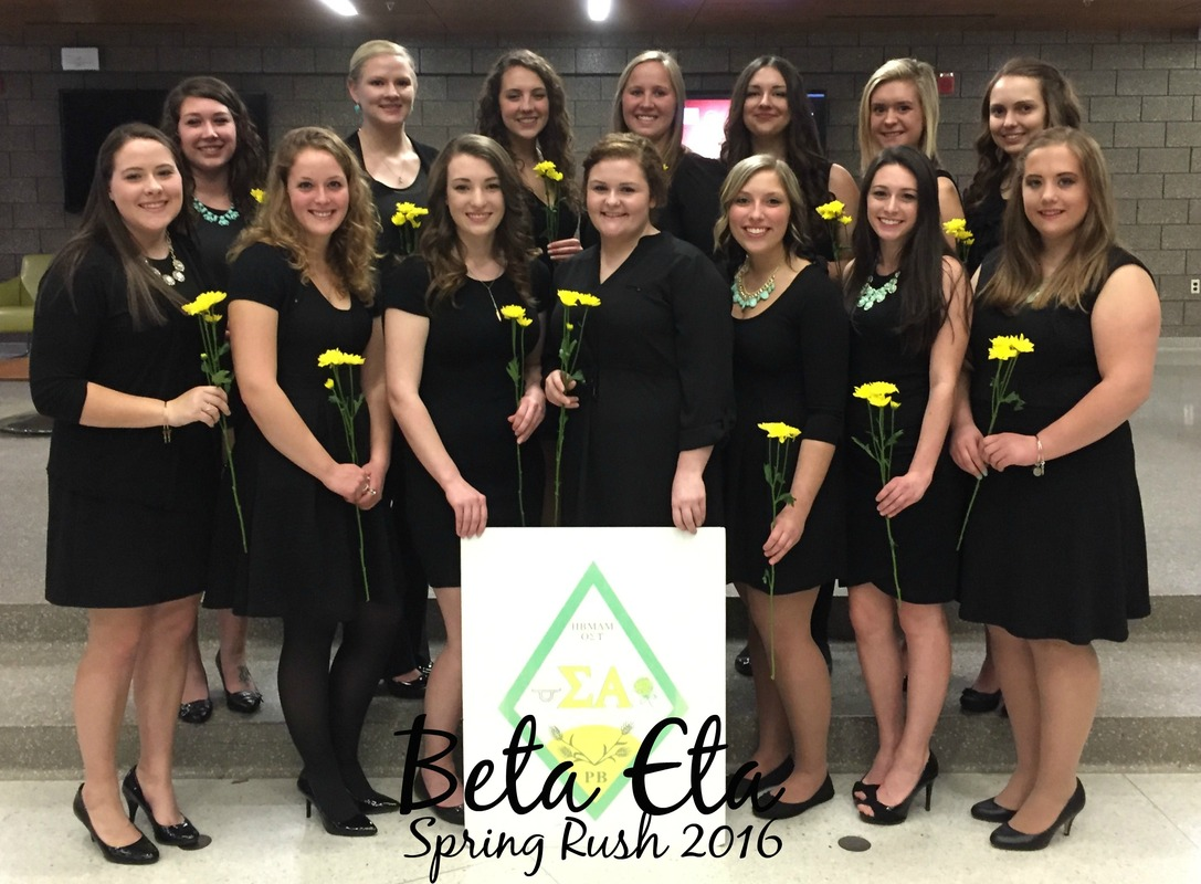 Beta Eta Spring 2016 Rush Class