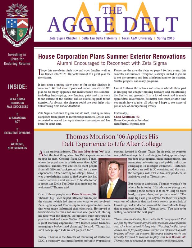 Home Association Newsletter