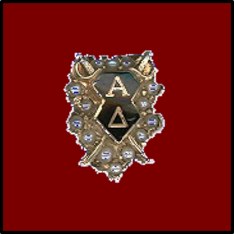 Alpha Delta Badge