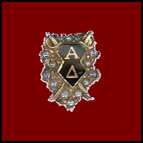 Alpha Delta Badge