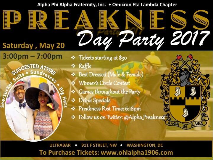 Preakness Day flyer 2017