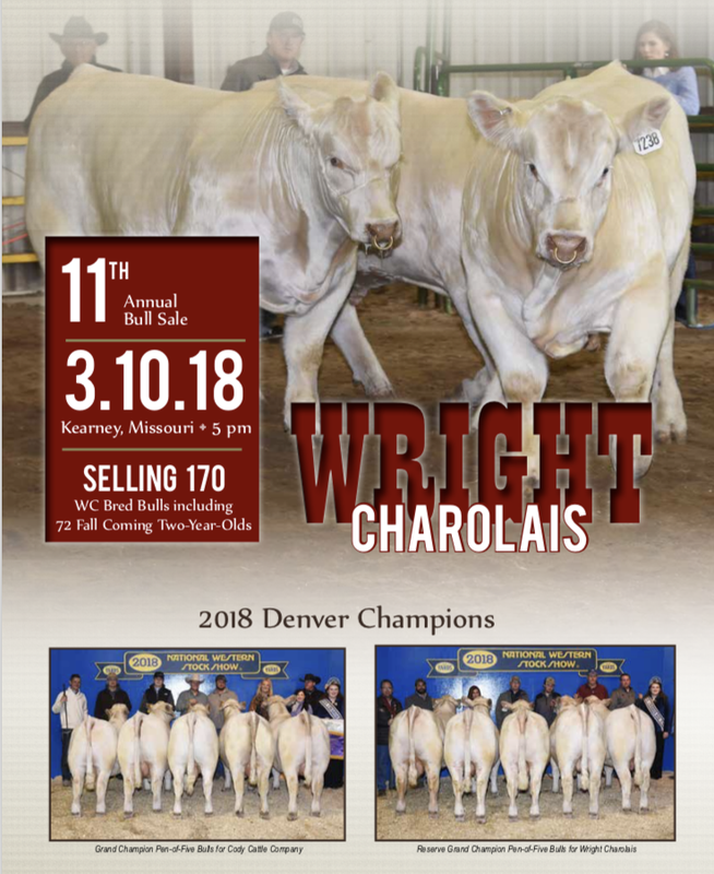 2018 Bull Sale Front Page