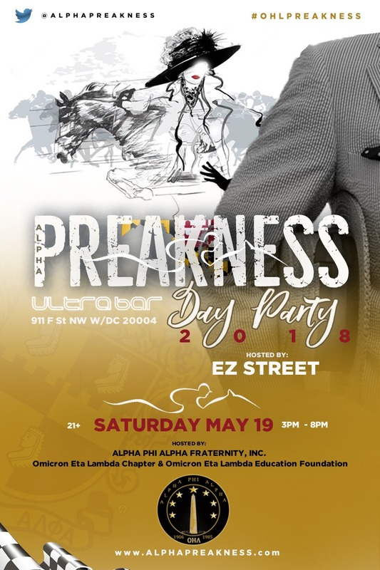 Alpha Preakness Day Party