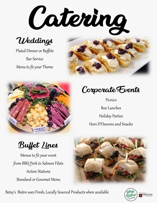 Betsys Bistro Catering