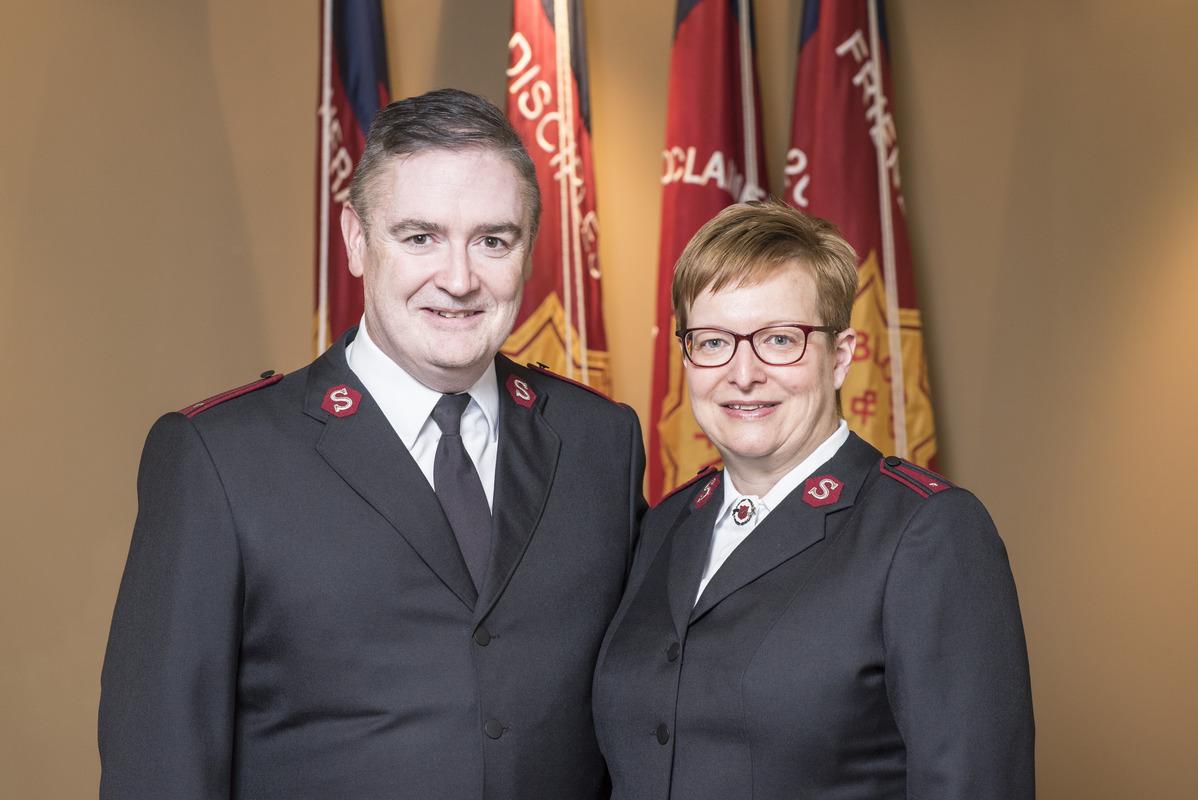 Lts. Scott and Cathy Allen