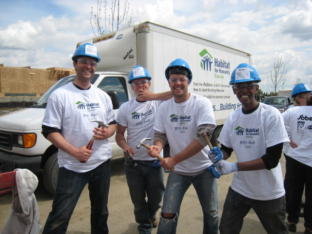 Habitat for Humanity St. Albert May 2009