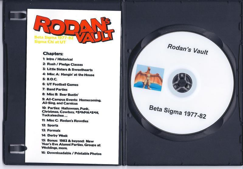 Sigma Chi - Beta Sigma - Albums - 1977-82 Reunion, Sept  2009