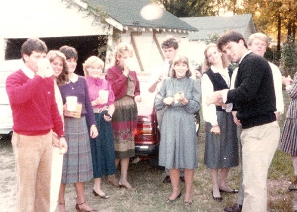 Tailgating in the 1980s