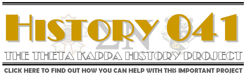 The Theta Kappa History Project