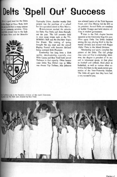 Delta Tau Delta - Epsilon Delta - Albums - 1967 - delts-1967