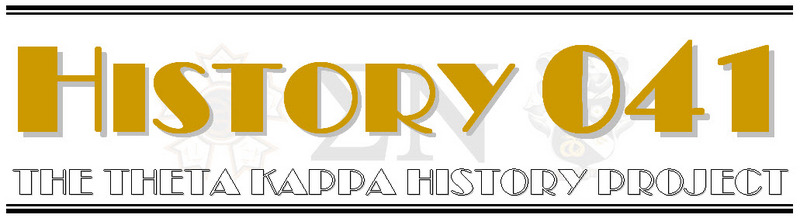 History 041 - The Theta Kappa History Project
