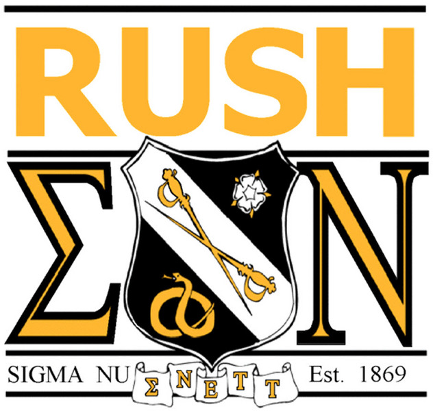 RUSH Sigma Nu!