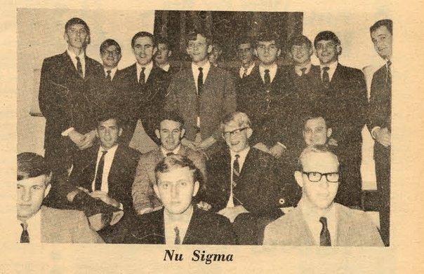 Nu Sigma - next Sigma Nu!