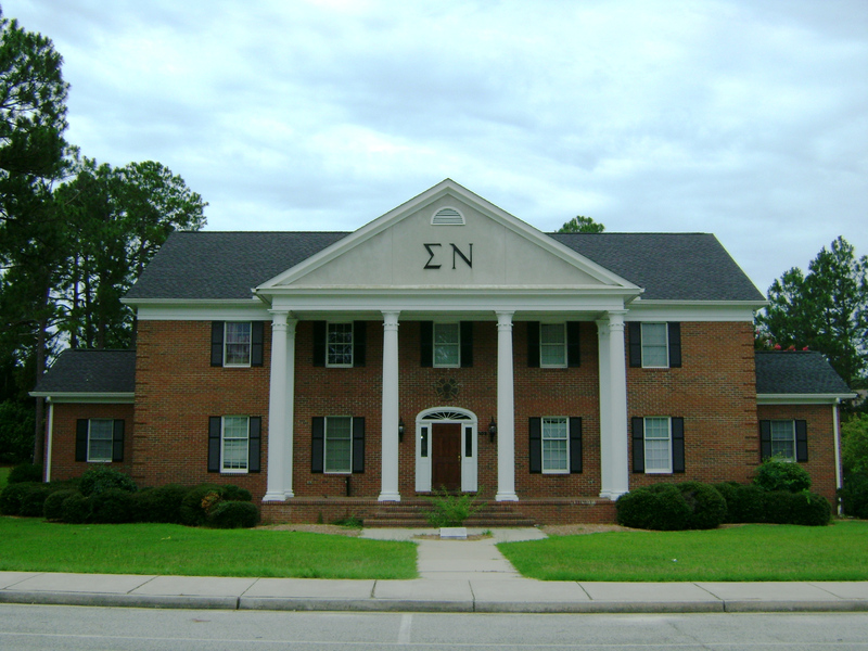 The Theta Kappa House circa 2010