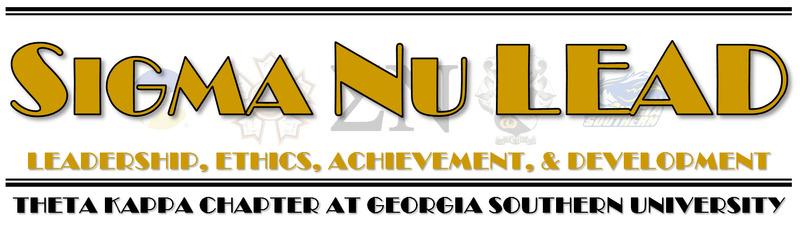 Sigma Nu Fraternity - Theta Kappa Chapter LEAD