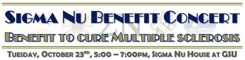 Sigma Nu Benefit Concert for Multiple Sclerosis