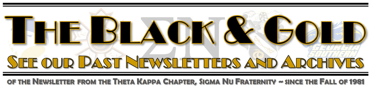 The Black & Gold - Past Newsletters and Archives