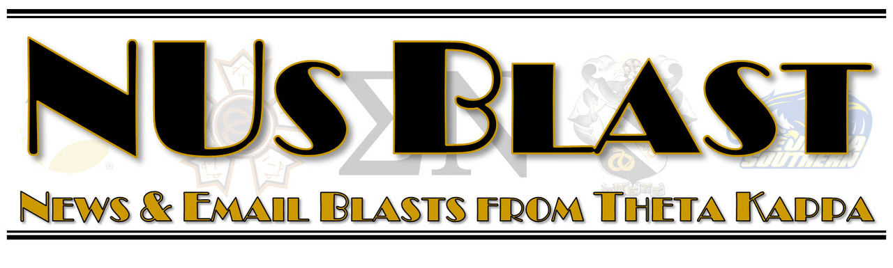 NUs Blast - News & Email Blasts from Theta Kappa
