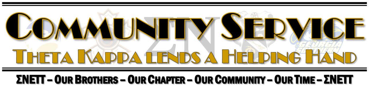 Sigma Nu Community Service