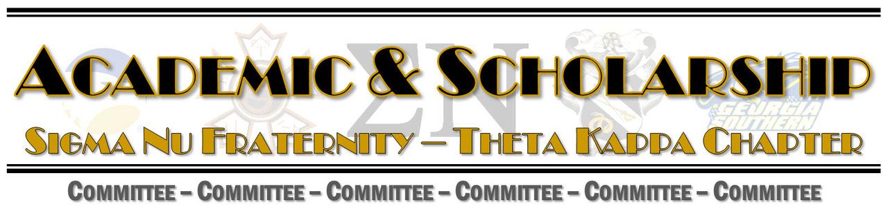 Academic & Scholarship Committee