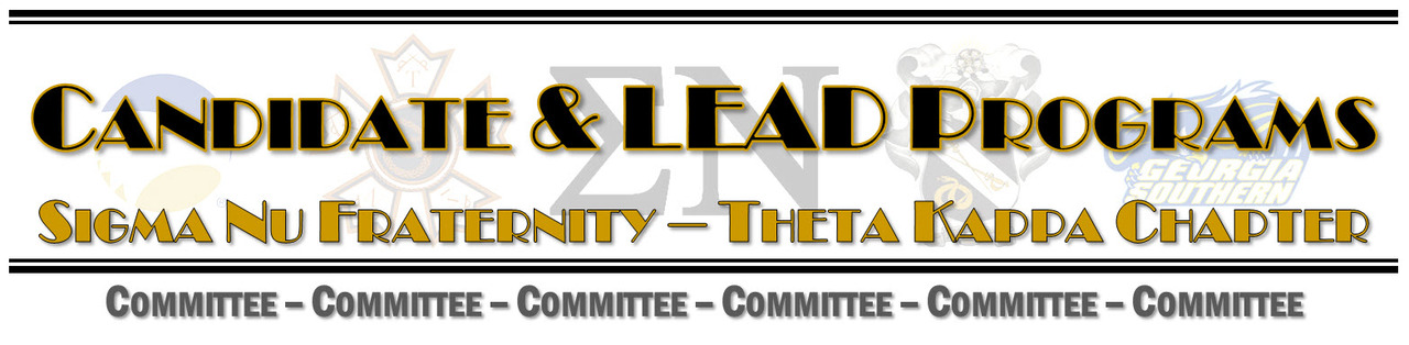 Candidate Education & LEAD Committee