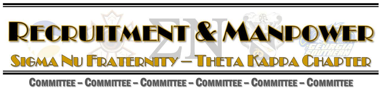 Rush, Recruitment, & Manpower Committee