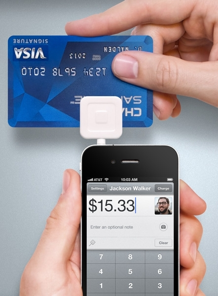 Square Up Mobile Credit Card Reader