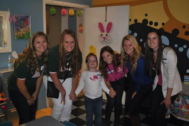 Egg Hunt at the Children's Cancer Center