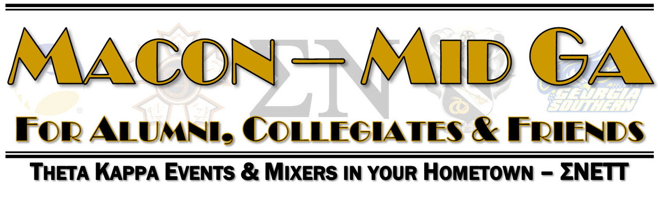 Macon Mid-GA Area Mixers - Bringing Theta Kappa to your Hometown!
