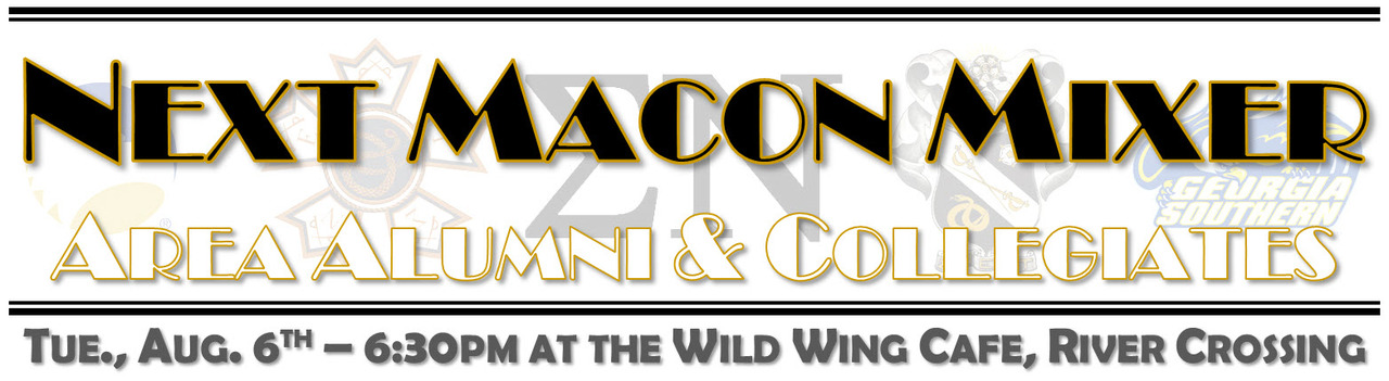 Our Next Macon/Mid-GA Area Mixer