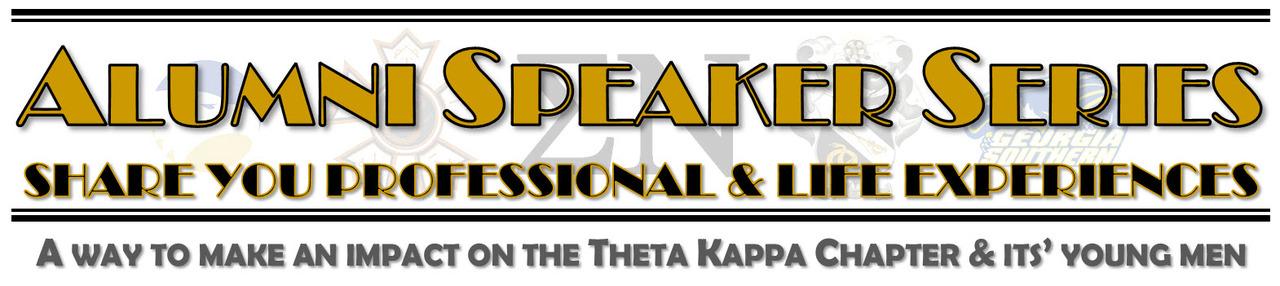 Sigma Nu Alumni Speaker Series