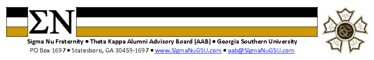 Sigma Nu and Theta Kappa Code of Conduct Expectations
