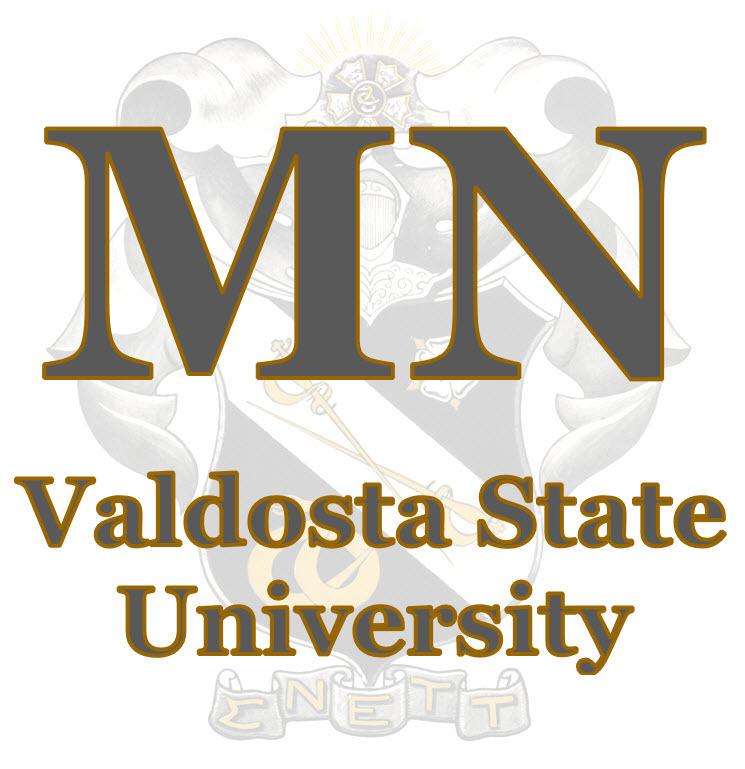 Mu Nu - Valdosta State Logo
