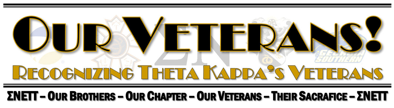 Theta Kappa recognizes our Veterans!