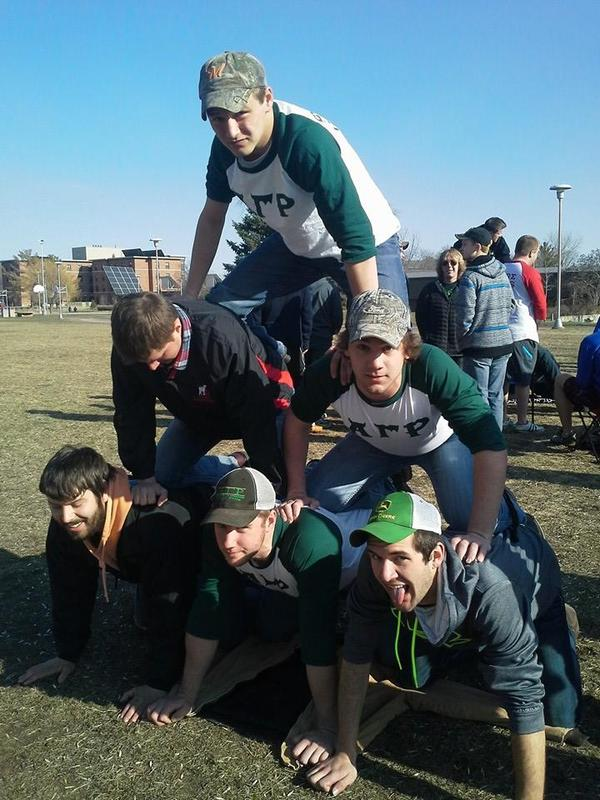 2014 Greek Week Pyramid