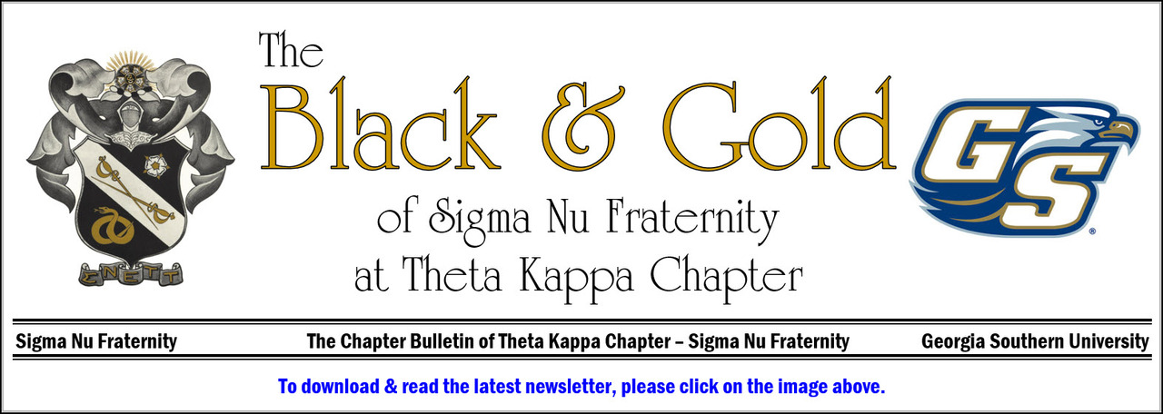 Sigma Nu - Theta Kappa - News