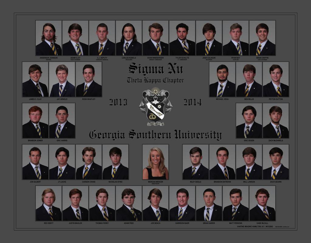 2013-2014 Sigma Nu Chapter at GSU