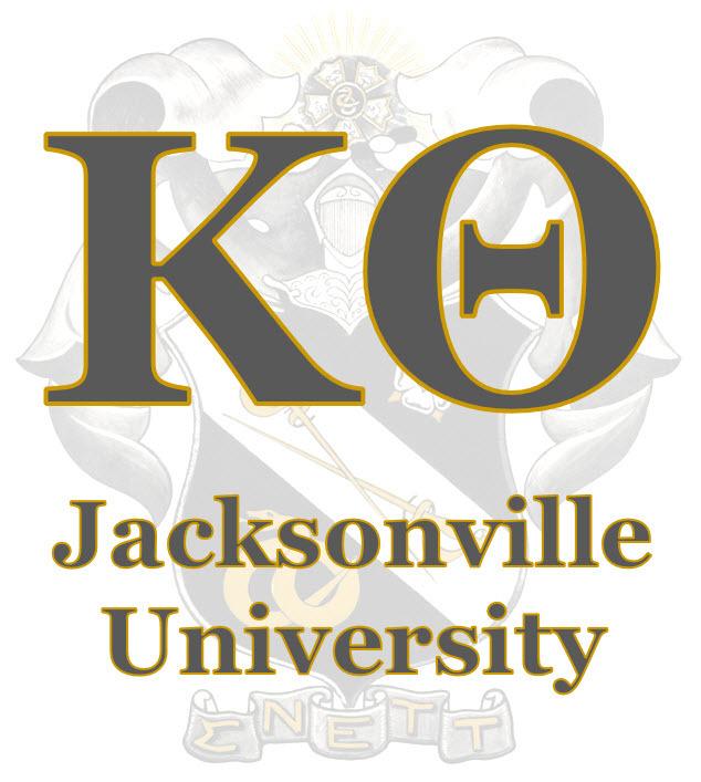 Kappa Theta - Jacksonville University Logo