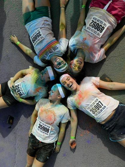 Alpha Delta Pi at the Color Run (2013)
