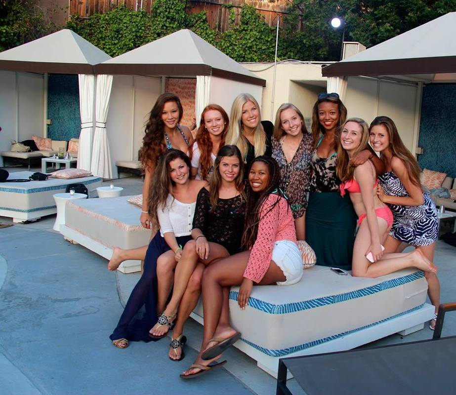 Kappa Kappa Gamma's Sisterhood at the W (2014)
