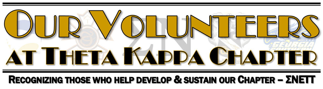 Our Volunteers at Sigma Nu - Theta Kappa (GSU)